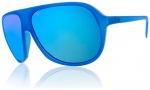 Electric Hoodlum Sunglasses Sunglasses - Violent Blue / Grey Blue Chrome Lens