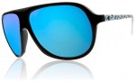 Electric Hoodlum Sunglasses Sunglasses - Powder Splatter / Grey Blue Chrome Lens
