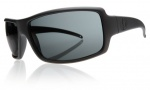 Electric EC DC XL Sunglasses Sunglasses - Matte Black / Grey Poly Polarized Level I