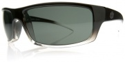 Electric Technician Sunglasses Sunglasses - Black Clear Fade / Grey Poly Polarized Level I