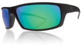 Electric Technician Sunglasses Sunglasses - Matte Black / Grey Green Chrome Lens
