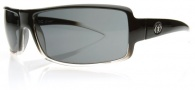 Electric EC DC Sunglasses Sunglasses - Black Clear Fade / Grey Poly Polarized Level I
