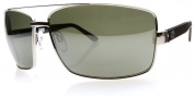 Electric OHM Sunglasses Sunglasses - Platinum / Grey Silver Chrome Lens