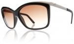 Electric Plexi Sunglasses Sunglasses - Gloss Black / Brown Gradient Lens