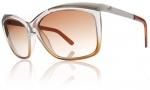Electric Plexi Sunglasses Sunglasses - Smoke Brown Fade / Brown Gradient