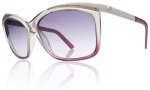 Electric Plexi Sunglasses Sunglasses - Smoke Purple Fade / Grey Gradient Lens