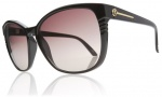 Electric Rosette Sunglasses Sunglasses - Gloss Black / Brown Gradient Lens