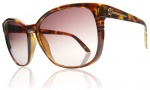 Electric Rosette Sunglasses Sunglasses - Tortoise Shell / Brown Gradient Lens
