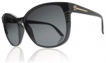 Electric Rosette Sunglasses Sunglasses - Gloss Black / Grey Poly Polarized Level I