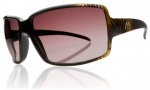 Electric Vol Sunglasses Sunglasses - Havana Gold / Brown Gradient Lens