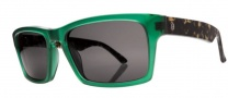 Electric Hardknox Sunglasses Sunglasses - Emerald Green / Tortoise / Melanin Grey