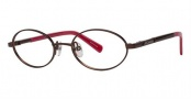 Columbia Jade Point Eyeglasses Eyeglasses - 01 Light Brown / Berry
