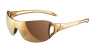 Adidas A382 Adilibria Shield S Sunglasses Sunglasses - 6055 Gold/ White