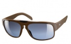 Adidas Santiago Sunglasses Sunglasses - 6052 Saddle Brown / Cornblue Silver Gradient