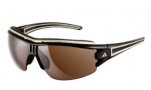 Adidas A167 Evil Eye Halfrim Pro L Sunglasses Sunglasses - 6051 Shiny Brown / Off White