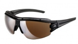 Adidas A167 Evil Eye Halfrim Pro L Sunglasses Sunglasses - 6054 Matte Black / Grey