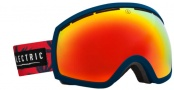 Electric EG2 Goggles Goggles - Blue Fonds / Bronze Red Chrome