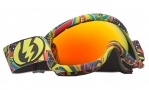 Electric EG.5S Goggles Goggles - Freak Out / Bronze Red Chrome Lens