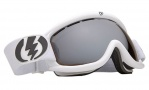 Electric EG.5S Goggles Goggles - Gloss White / Bronze Silver Chrome Lens