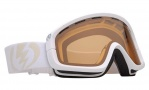 Electric EGB Goggles Goggles - Gloss White / Orange Lens
