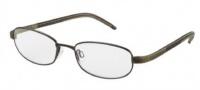Adidas A992 Eyeglasses Eyeglasses - 6054 Brown Shiny / Brown