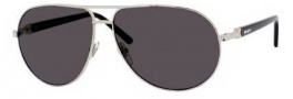Yves Saint Laurent 2291/S Sunglasses Sunglasses - 0086 Palladium Black / E5 Smoke Lens