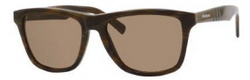 Yves Saint Laurent 2293/S Sunglasses Sunglasses - 02B7 Horn Walnut / X7 Brown Lens