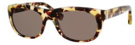 Yves Saint Laurent 2304/S Sunglasses Sunglasses - 0QR2 Light Havana / EJ Brown Lens