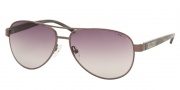 Ralph by Ralph Lauren RA4004 Sunglasses Sunglasses - 103/11 Gunmetal / Grey Horn Gray Gradient