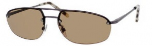 Yves Saint Laurent 2315/S Sunglasses Sunglasses - 0R80 Semi Matte Dark Ruthenium / E4 Brown Lens