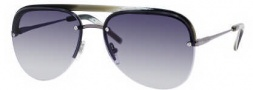 Yves Saint Laurent 2319/S Sunglasses Sunglasses - 08I5 Dark Ruthenium Horn / JJ Gray Gradient Lnes