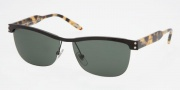 Ralph by Ralph Lauren RA4070 Sunglasses Sunglasses - 107/71 Black Green / Solid