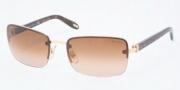 Ralph by Ralph Lauren RA4082 Sunglasses Sunglasses - 106/13 Gold / Brown Gradient