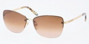 Ralph by Ralph Lauren RA4083 Sunglasses Sunglasses - 106/13 Gold / Brown Gradient