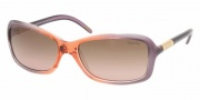 Ralph by Ralph Lauren RA5072 Sunglasses Sunglasses - 726/14 Plum Peach Fade / Brown Gradient Pink