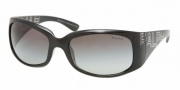 Ralph by Ralph Lauren RA5104 Sunglasses Sunglasses - 541/11 Black Crystal / Gray Gradient