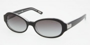 Ralph by Ralph Lauren RA5119 Sunglasses Sunglasses - 541/11 Black Crystal / Gray Gradient