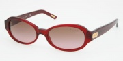 Ralph by Ralph Lauren RA5119 Sunglasses Sunglasses - 878/14 Burgundy Brown / Gradient Pink