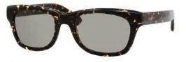 Yves Saint Laurent 2321/S Sunglasses Sunglasses - 0IL5 Havana Spotted / DJ Green Lens