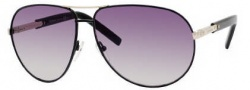 Yves Saint Laurent 6293/S Sunglasses Sunglasses - 0BKS Black Shiny Black / N3 Gray Gradient Lens