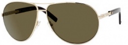 Yves Saint Laurent 6293/S Sunglasses Sunglasses - 06ZU Gold Havana / QT Green Lens