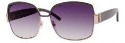 Yves Saint Laurent 6301/S Sunglasses Sunglasses - 0I1L Red Gold Gray / 9C Dark Gray Gradient Lens