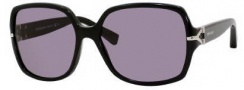 Yves Saint Laurent 6307/S Sunglasses Sunglasses - 0807 Black / E5 Smoke Lens