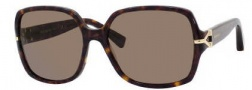 Yves Saint Laurent 6307/S Sunglasses Sunglasses - 0086 Dark Havana / 70 Brown Lens
