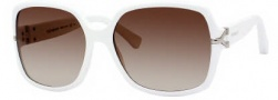 Yves Saint Laurent 6307/S Sunglasses Sunglasses - 0C29 White / CC Brown Gradient