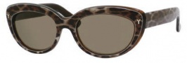 Yves Saint Laurent 6319/S Sunglasses Sunglasses - 0MOM Panther / 70 Brown Lens