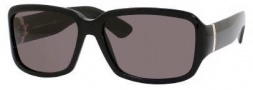 Yves Saint Laurent 6325/S Sunglasses Sunglasses - 0807 Black / NR Brown Gray Lens