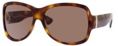 Yves Saint Laurent 6327/S Sunglasses Sunglasses - 005L Havana / SB Red Brown Lens