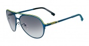 Lacoste L106S Sunglasses Sunglasses - 424 Satin Blue