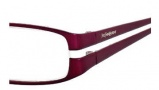 Yves Saint Laurent 6179 Eyeglasses Eyeglasses - 0NHL Burgundy Semi Matte